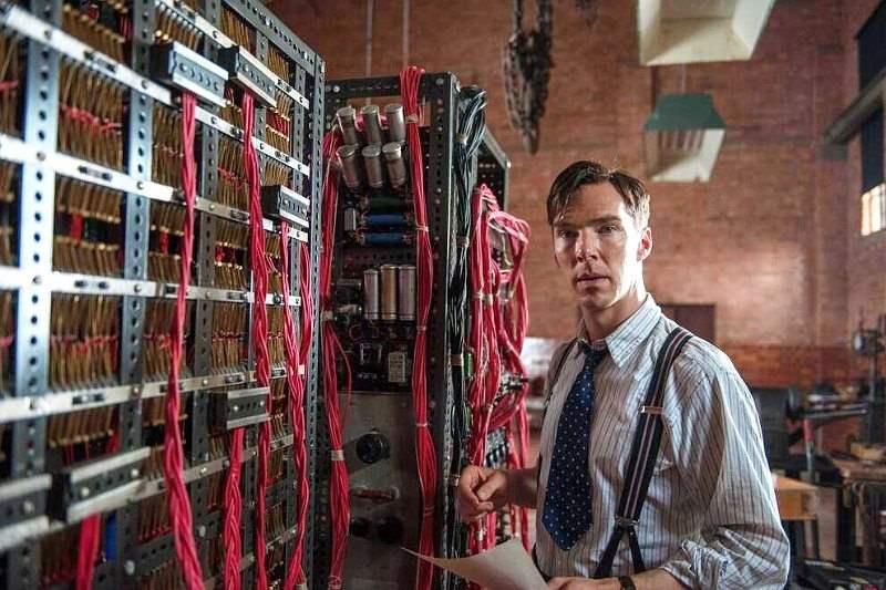 O ηθοποιός Benedict Cumberbatch ως Turing