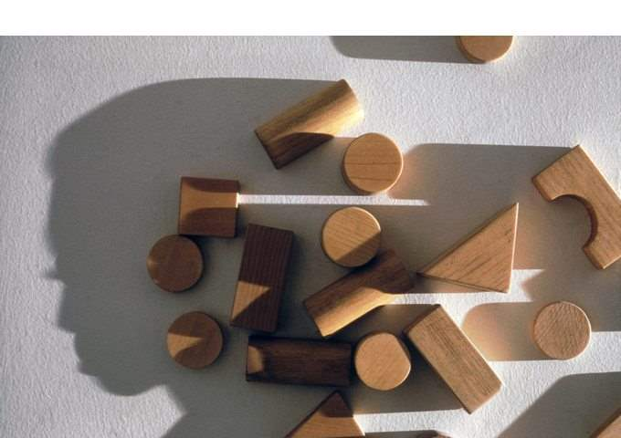 H230, W400, D5cm Wood, single light source, shadow Collection of Boise Art Museum, Idaho USA
