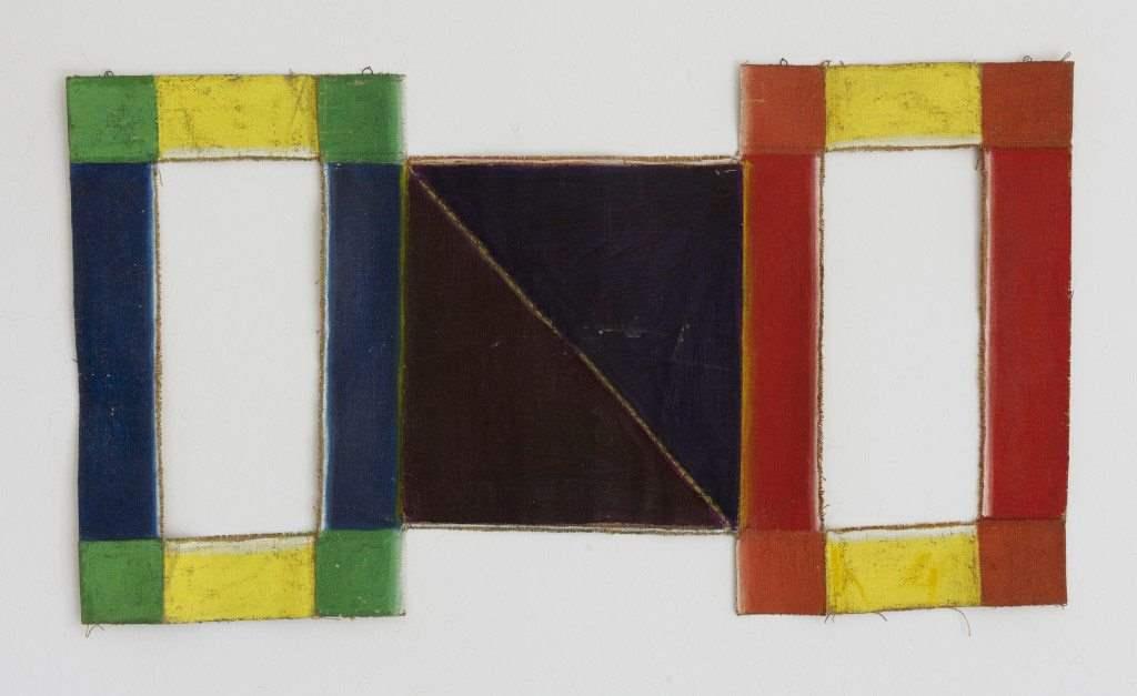 Danil, IX_72, 1972, mixed media and acrylic on burlap, 120x67 cm-3 copy