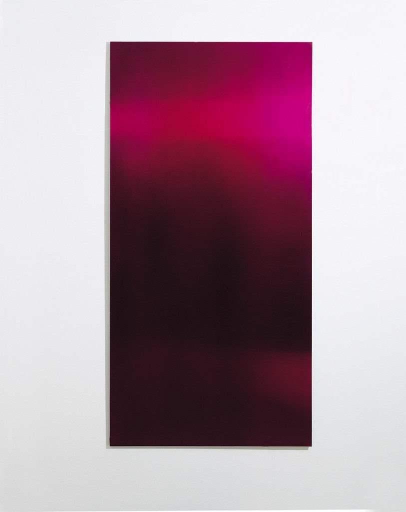 Totsikas, Untitled, 1994, acrylic on metal, 200 X 100 cm copy