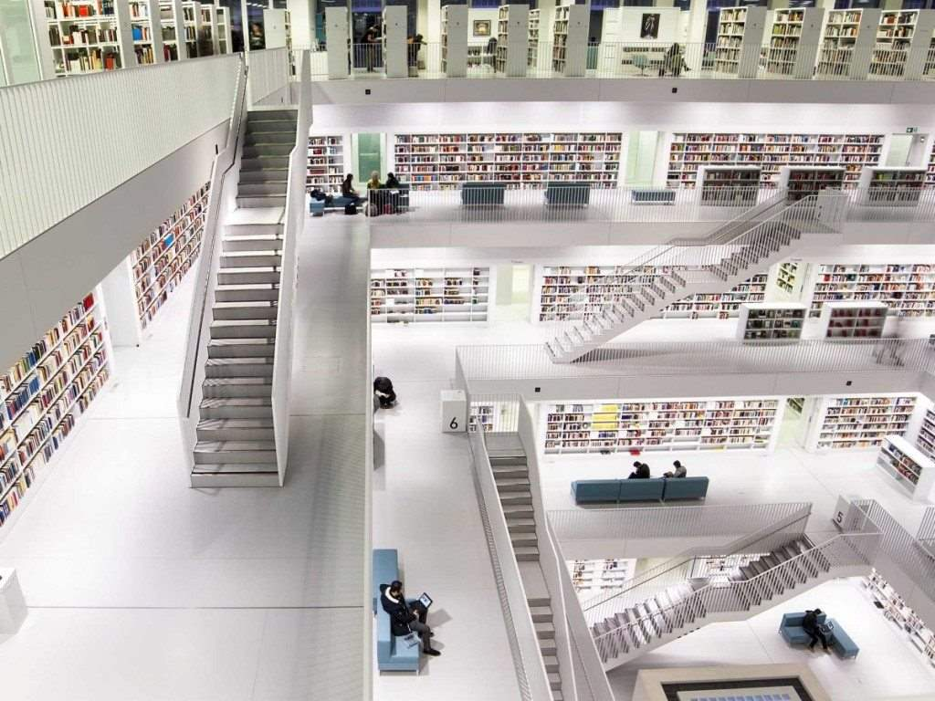 best-libraries-from-around-the-world-stuttgart-city-library